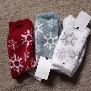 Lady's Soft & Warm Crew Socks